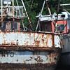 Bahia de Jiquilisco - derelict fishing boats