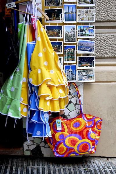Taken in one of the store as I walked towards the Park Guell.