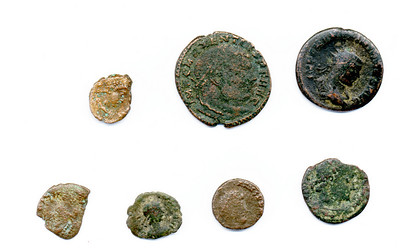Roman Period bronze coins from Turkey