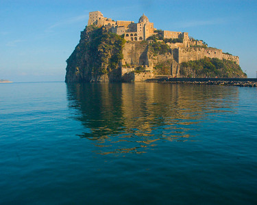 Castello Aragonese on the island of Ischia