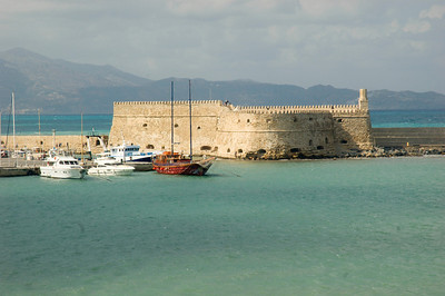 Venitian Fortress at Heraklion, Crete