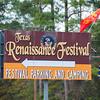 Entering the Texas Renaissance Festival