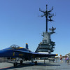 F-18 on the flight deck