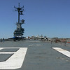 End of the flight deck