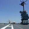 Flight deck from the rear