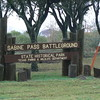 Sabine Pass Battleground entrance