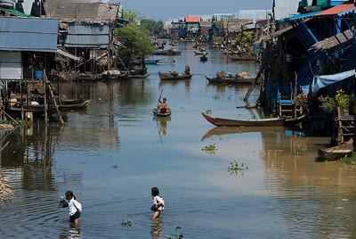 The village of Kompong Phhluk.