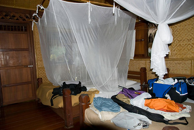 Our room at the Jungle Rafts