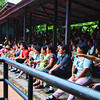 The audience at the elephant show.