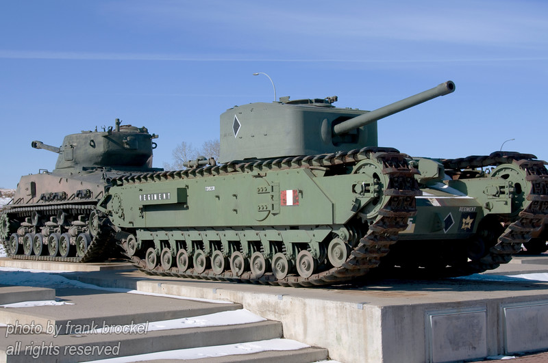 WWII Tanks outside the Museum