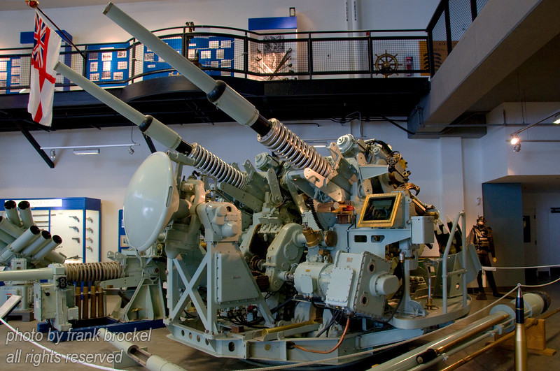 Ship mounted 3 inch Gun