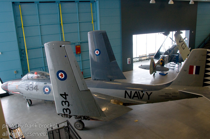 WWII McDonnell F2H-3 Banshee
