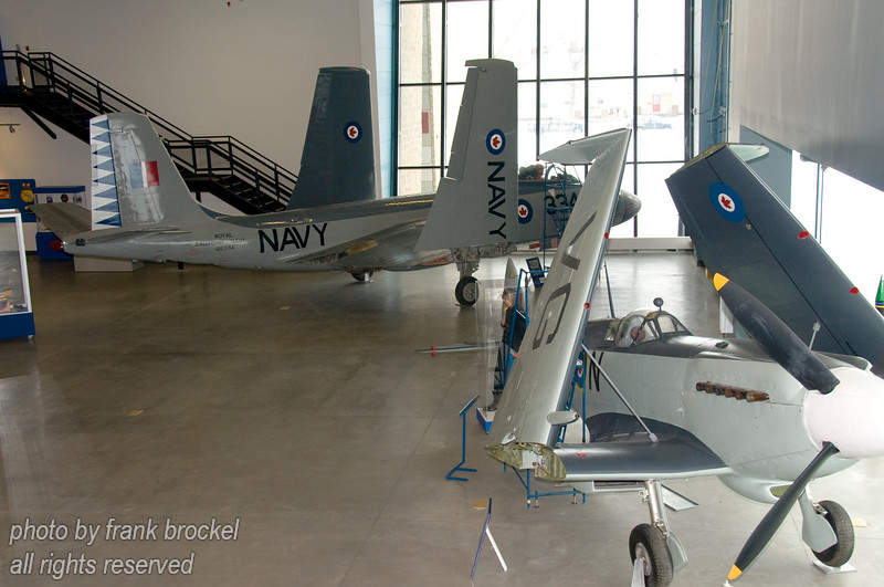McDonnell F2H-3 Banshee and the Submarine Sea Fire Mk. XV