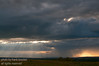 The incredible skies of Alberta as seen from Nosehill - the Rocky Mountains are seen at the horizon