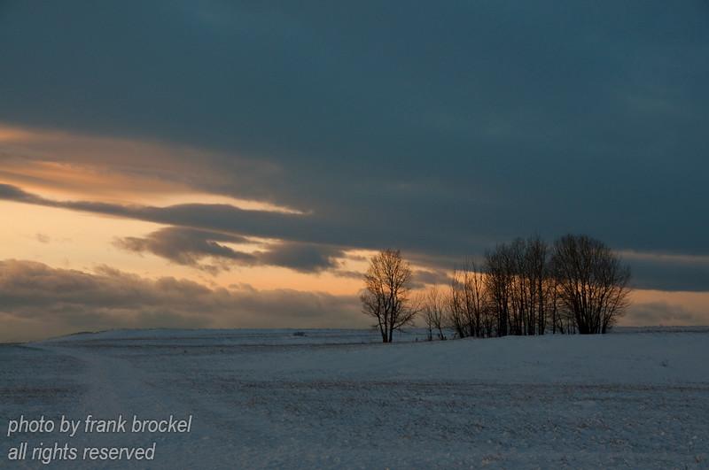 January - Sunset