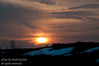 A beautiful sunset on Nose Hill in the middle of March