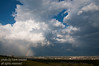 July - this is looking east over the airport as the storm is moving out