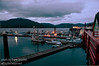 An evening photo of the Prince Rupert Harbour