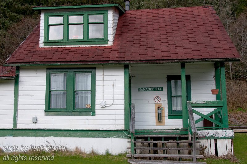 The Manager's House at the North Pacific Cannery near Port Edwards