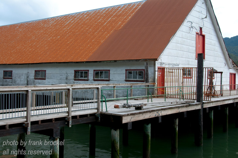 Parts of the North Pacific Cannery near Port Edwards