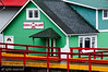 The Eagle Bluff B&B in Prince Rupert - I loved the colours