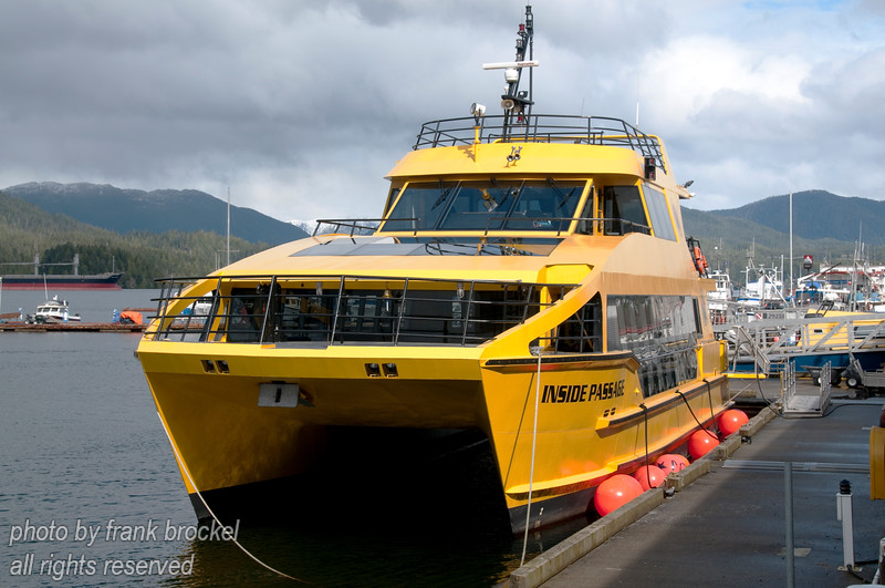 An excursion boat in the Prince Rupert Harbour.