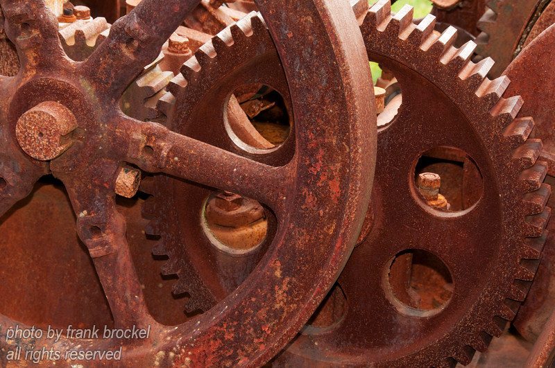 A gear drive at The North Pacific Historic Fishing Village, Port Edwards