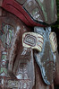 A face on a totem pole in Prince Rupert, B.C.