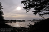 A silhoutte shot of Wickaninnish south beach on the west coast of Vancouver Island