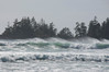Storm waves are pounding Florencia Bay