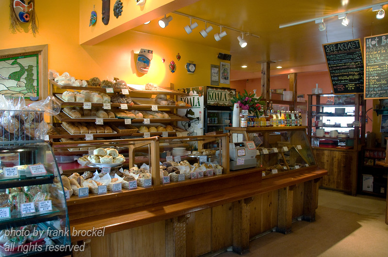 Inside the The Common Loaf Bake Shop in Tofino, Vancouver Island