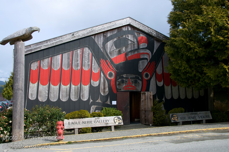 The Eagle Aerie Gallery of Roy Henry Vickers in Tofino, Vancouver Island