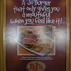 OLYMPUS DIGITAL CAMERA South Africans love a good does of daily humor and this is reflected in many advertisings seen around the country like this Burger poster along the highway that is traveled by many Joburgers to the coast.