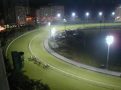 Happy Valley Racing track