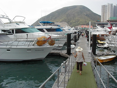 MARINA and trip to Lamma Island