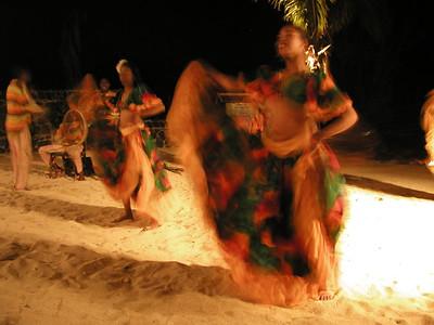 A entycing SEGA beach performance