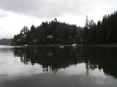 "Quaint 'Deep Cove"" on the north shore"