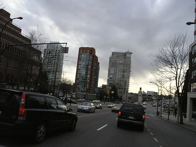 Richmond to downtown Vancouver and return