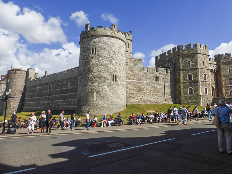 Windsor Castle - West end.