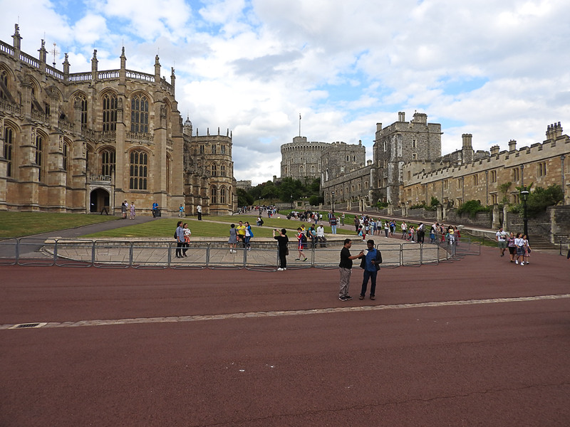 Windsor Castle near West Entrance