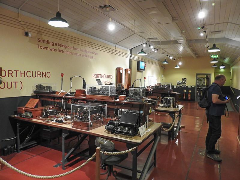 Telegraph Museum at Porthcurno.