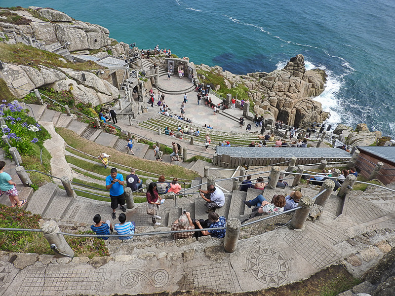Minack Theater, a view from the nosebleed seats