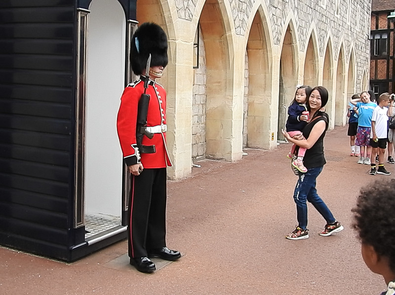 On Guard within Windsor Castle