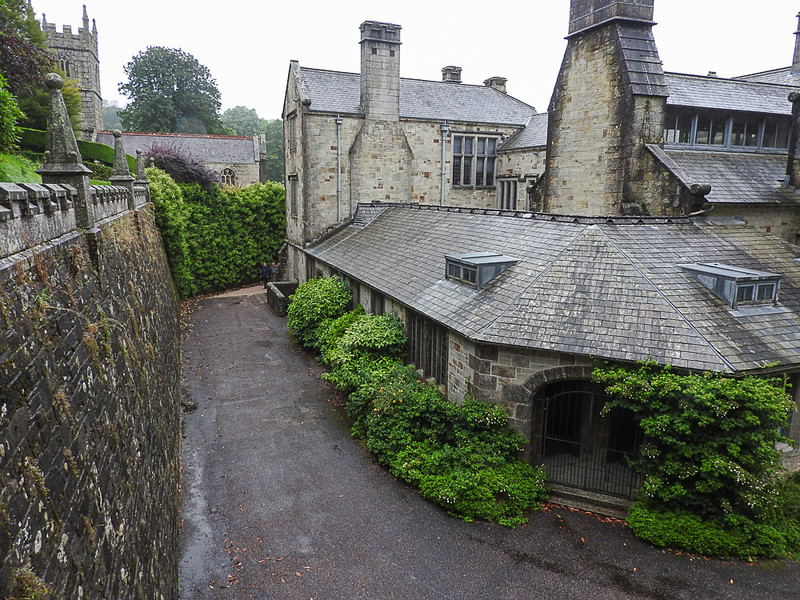 Rear of Lanhydrock House. This is the kitchen area.