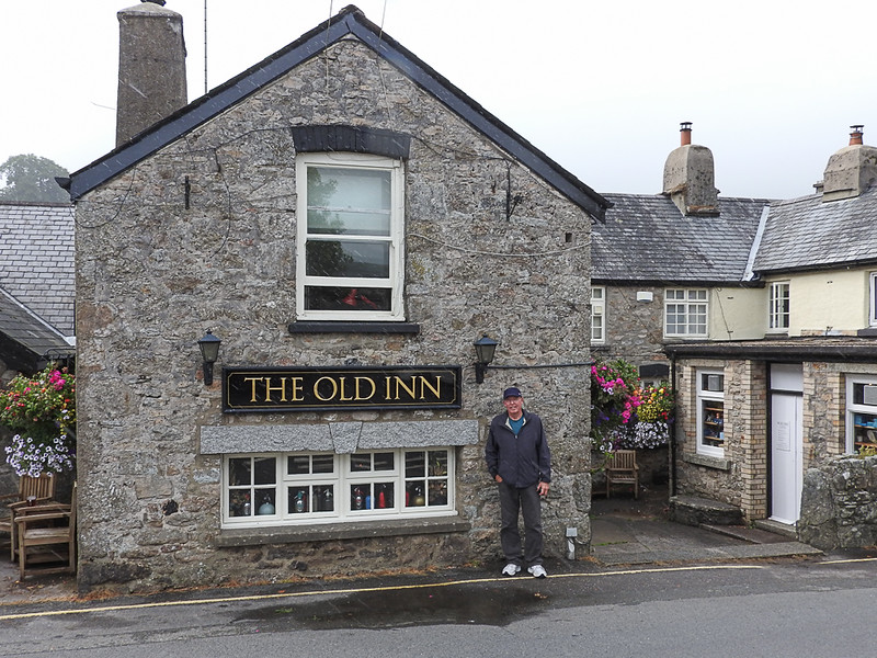 The Old Inn at Widecombe in the Moor.