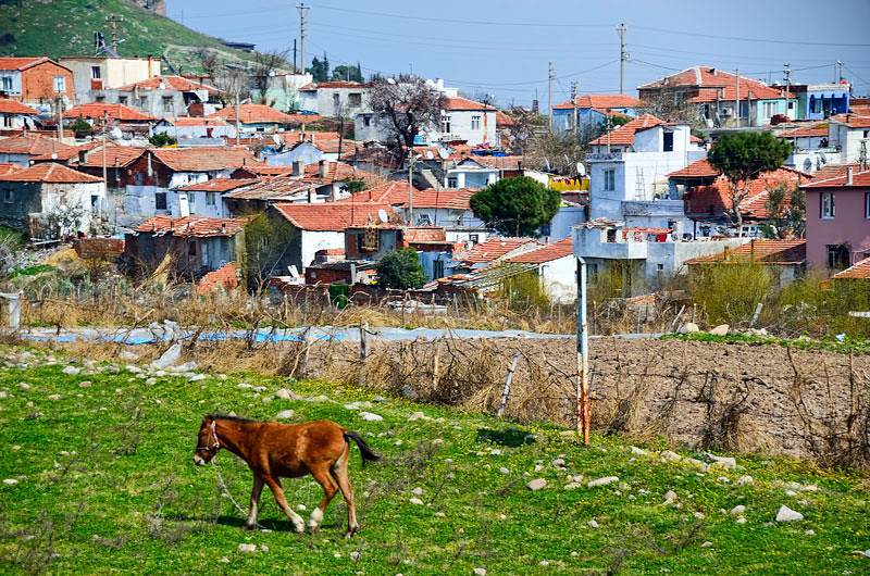The town of Bergama.