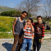 While in Asklepion, we met these three boys, who, despite their not knowing English still were able to convey to us by arm motion that they want their pictures taken.