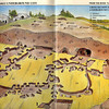 This is a diagrammatic cross sectional sketch of how an underground city is layed out.<br /> <br /> Kaymakli Underground city was opened to the public in 1964. People of the town built their houses around the underground city and they linked their houses to the underground city with underground tunnels.<br /> <br /> In the underground city there are some main galleries and inside them same sub division were carved out make the city very complicated to make the enemies confused.