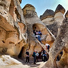 The rupestral sanctuaries of Cappadocia constitute an unique artistic achievement in a region of superlative natural features, providing irreplaceable testimony to post-iconoclast Byzantium. The dwellings, village convents and churches retain the fossilized images of a province of the Byzantine Empire between the 4th century and the Turkish invasion.