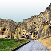 The first inhabitants of Cappadocia area have opened deep cavities within the volcanic rocks due to escape from the attacks of the wild animals and hard winter conditions and then they have enlarged these cavities according to their daily needs, they opened new cavities and created the underground cities connecting these cavities with tunnel and labyrinths. Later the underground cities were the place of the hiding of the first Christians who escaped from the persecution of the Roman soldiers and were enlarged to able when were necessary an entire city to live and every kind of fixture necessary for the living of the people has been attached. When there wasn't any danger the people living on the ground in case of the danger have hidden in the underground cities. For this reason all the homes at that time were connected to the underground cities with a tunnel.